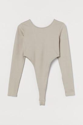H&M High Leg Bodysuit