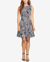 American Living Sleeveless Geo-Print Dress
