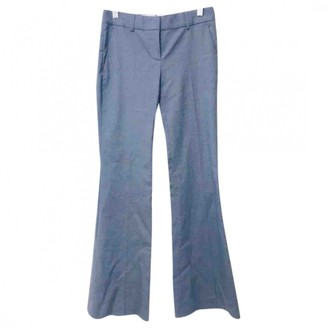 Theory Grey Wool Trousers