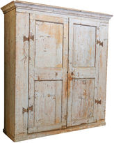 One Kings Lane Vintage 18th-C. Tuscan Painted Armoire