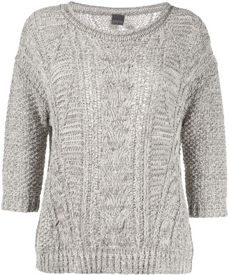 Lorena Antoniazzi cable knit jumper