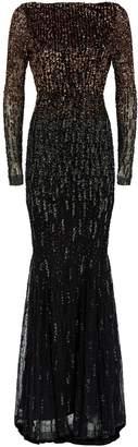 Rachel Gilbert Amabel Sequin Gown