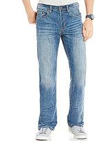 Buffalo David Bitton King Hand-Sanded Slim Bootcut Jeans