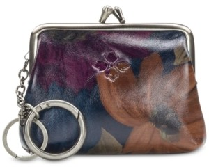 Patricia Nash Borse Printed Leather Coin Purse