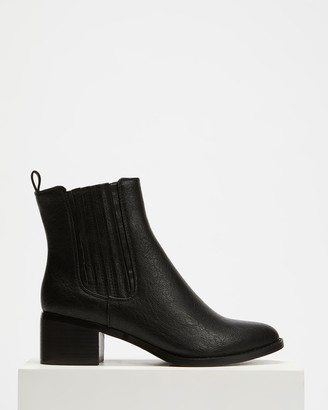 Billini - Women's Black Chelsea Boots - Eamon Ankle Boots - Size 5 at The Iconic