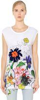 Stella McCartney Sleeveless Printed Cotton Jersey T-Shirt