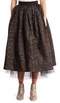 Marc Jacobs Crinkle Taffeta Skirt