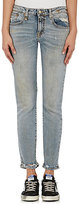 R 13 Women's Alison Crop Skinny Jeans-LIGHT BLUE, BLUE