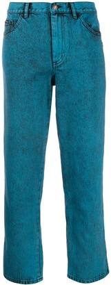 Marc Jacobs cropped turn up jeans