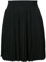 Balmain pleated knit skirt