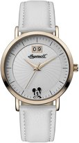 Ingersoll Women's Quartz Stainless Steel and Leather Casual Watch, Color: (Model: ID00502)