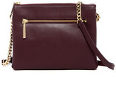 Halogen Haloge Leather Crossbody Bag