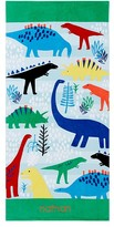 Pottery Barn Kids Allover Dino Kid Beach Towel, Multi