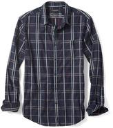 Banana Republic Grant-Fit Luxe Flannel Windowpane Shirt