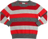 Il Gufo Striped Merino Wool Sweater
