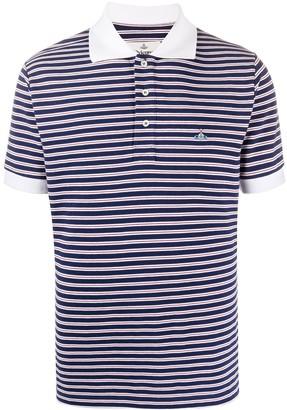 Vivienne Westwood Striped Print Polo Shirt