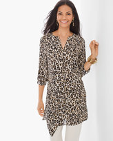 Chico's Modern Utility Tunic in Leopard