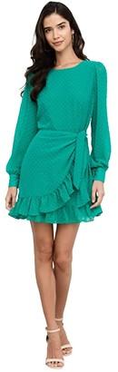 Yumi Kim Daphne Dress (Jewel Emerald Swiss Dot) Women's Dress