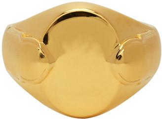 Dear Letterman Gold Waed Ring