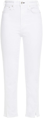 Rag & Bone Nina Cropped High-rise Slim-leg Jeans