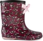 Lili Gaufrette Printed rain boots