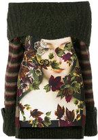 Antonio Marras printed oversized jumper