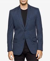 Calvin Klein Men's Ponte Print Sport Coat