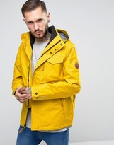 Timberland 3in1 Ragged Mountain Jacket Detachable Inner Fleece Jacket In Yellow