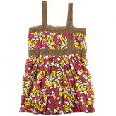 Miss Sixty Miss SixtyGirls Brown Floral Tunic Dress