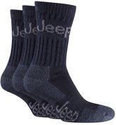 Jeep 6 Pairs Of Men's Terrain cushion sole walking Hiking Socks