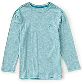 Nautica Big Boys 8-20 Long-Sleeve Solid Tee