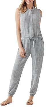 Splendid Brook Striped Jumpsuit