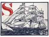 Thomas Paul S Ship Tea Towel