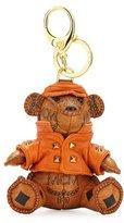 MCM Visetos 3D Bear Charm, Cognac