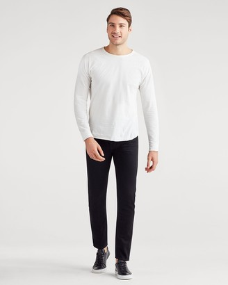 7 For All Mankind Paxtyn with Clean Pocket with Side Seam Piping in Mateo
