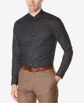 Perry Ellis Men's Micro-Check Shirt