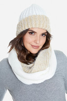 Fashion to Figure Wells Color-Block Knit Beanie