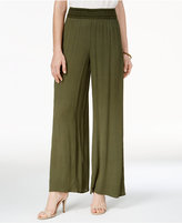 Amy Byer Juniors' Wide-Leg Soft Pants