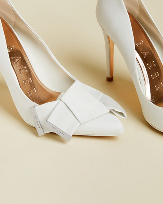Ted Baker IINESI Satin bow detail courts