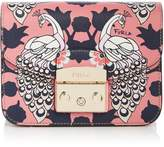 Furla Metropolis Mini Print Cross Body Bag