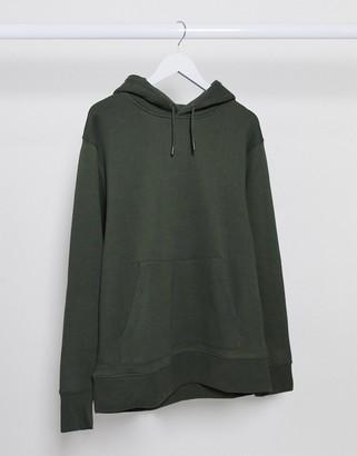 Topman hoody in khaki