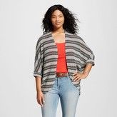 Women's Plus Size 3/4 Sleeve Hacci Cocoon Cardigan - Mossimo Supply Co.