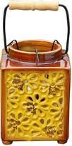 Very Vintage Ceramic Flower Lantern