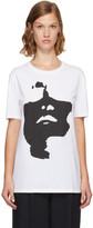 Neil Barrett White Oversized Siouxsie T-Shirt