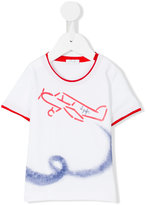 Il Gufo airplane print T-shirt - kids - Cotton/Spandex/Elastane - 6 mth