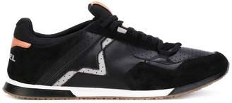 Diesel Fury contrast texture sneakers
