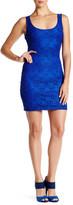GUESS Sleeveless Lace Shift Dress