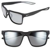 Nike Men's Bandit 59Mm Sunglasses - Matte Black/ Wolf Grey