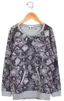 Splendid Girls' Printed Long Sleeve Sweater