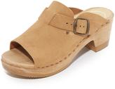 No.6 Sadie Mid Heel Clogs